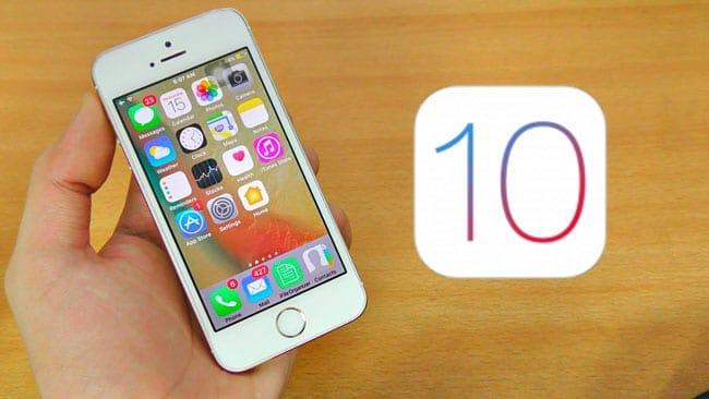 Mejorar rendimiento en iPhone y iPad antiguos con iOS 10