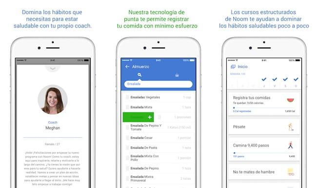 Apps gratuitas para bajar de peso