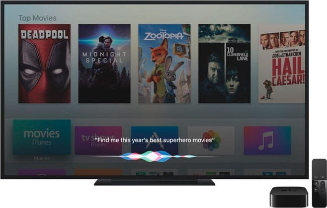 tvOS 10.0.1 disponible