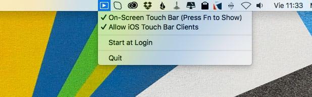 Icono TouchBarServer