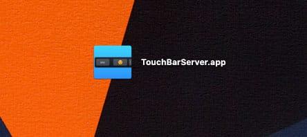 TouchBarServer App