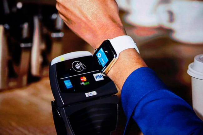 Apple Pay desde un Apple Watch