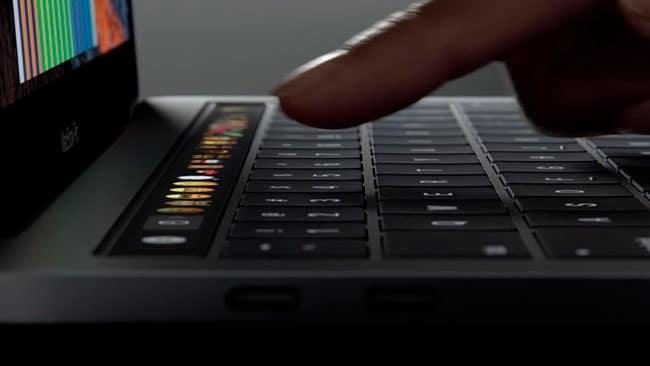 Cómo reiniciar la Touch Bar de los nuevos MacBook Pro