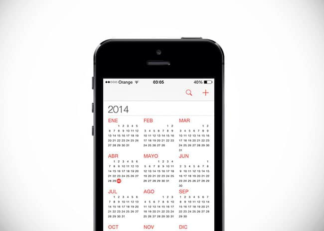 Evitar que los eventos del calendario desaparezcan en iPhone, iPad y iPod Touch
