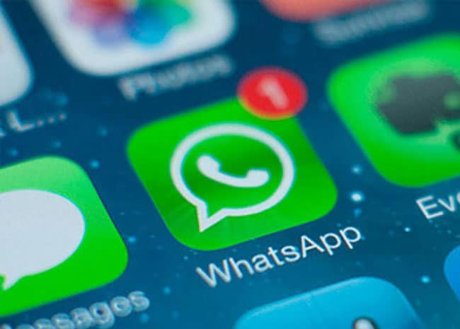 Check Azul de los grupos de WhatsApp