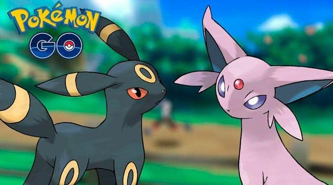 Conseguir a Umbreon o Espeon en Pokémon GO al evolucionar a Eevee