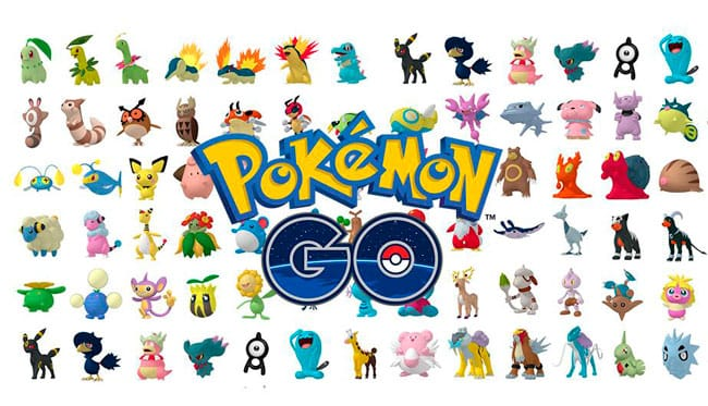 Pokémon GO! Segunda Generación