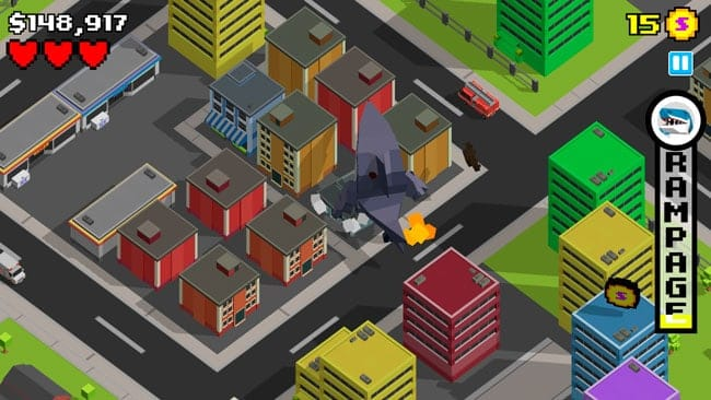 Smashy City para iPhone