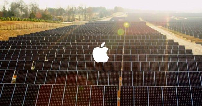 Apple paneles solares