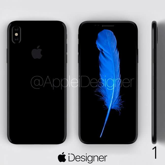 iPhone 8 concepto por AppleiDesigner