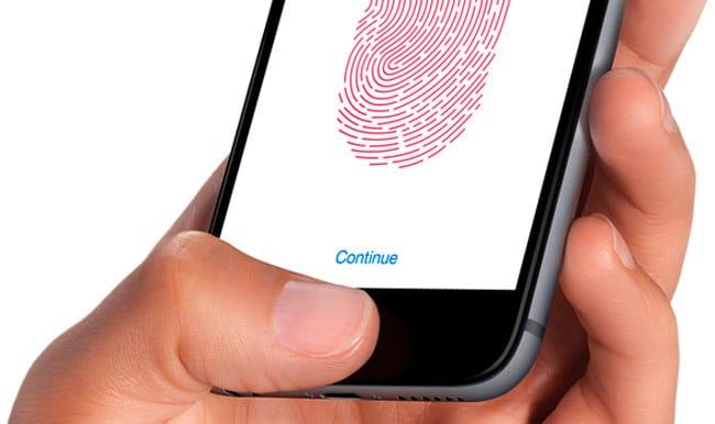 Configurar Touch ID o desbloqueo con código