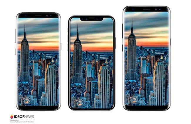 iPhone 8 vs Galaxy S8