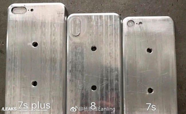 Posibles moldes de fabricación del iPhone 8 y iPhone 7s