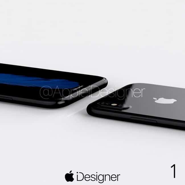 Realista concepto de iPhone 8