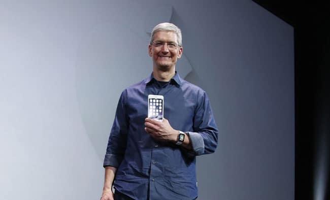 Tim Cook presentación iPhone