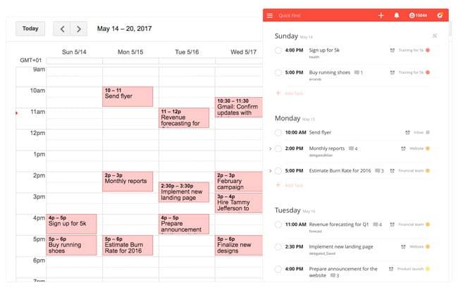 Todoist y Google Calendar