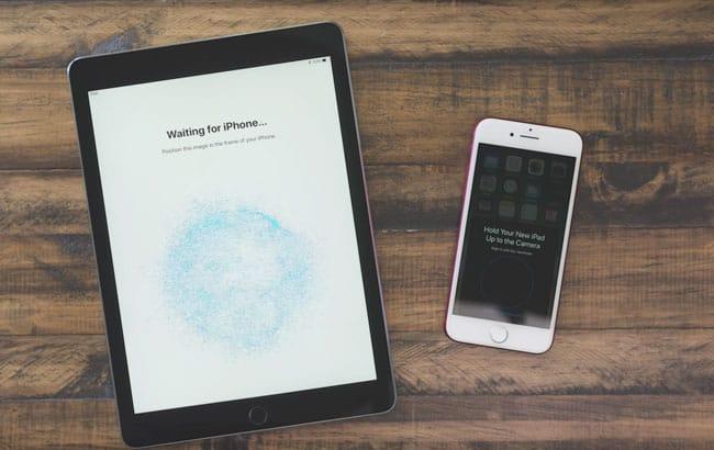 Configuración automática de iOS 11