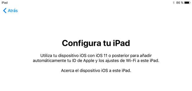 Configuración automática iOS 11