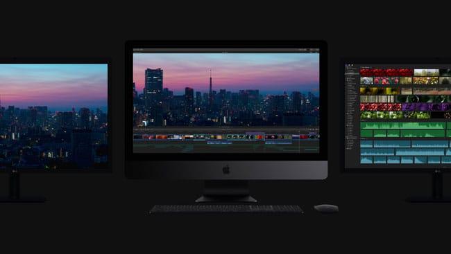iMac Pro pantallas externas