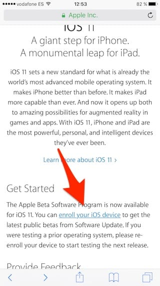 enroll your iOS device