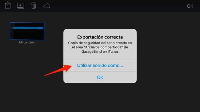 Establecer tono personalizado en iPhone