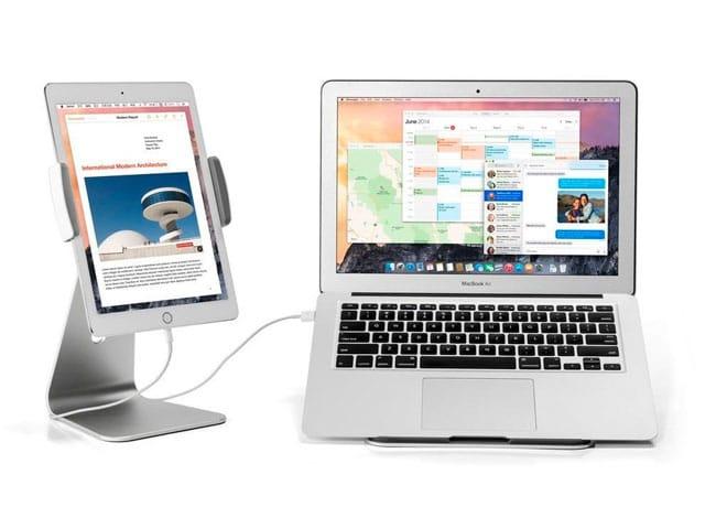 Soporte giratorio iPad