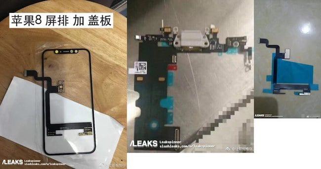 Componentes iPhone 8 filtrados