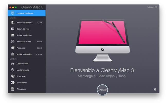 Limpiar Mac con CleanMyMac3