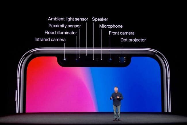 Fallo de Face ID durante la demo