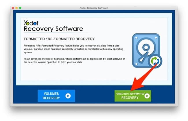 Formated Recovery