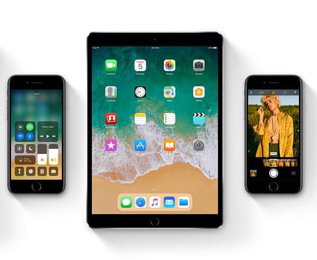 Hora de disponibilidad de iOS 11
