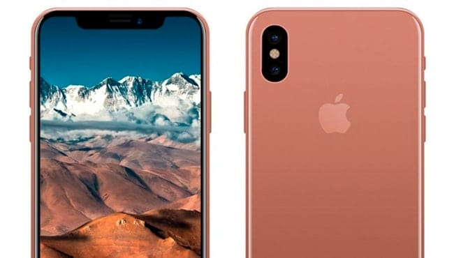 iPhone X en color rojo aparece en vídeo
