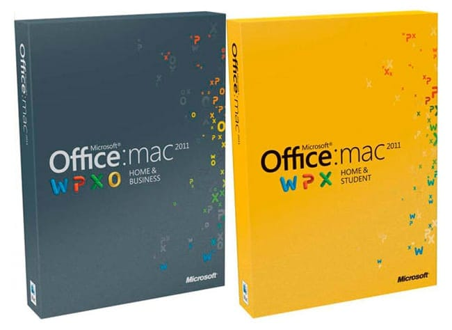 Paquete Office para Mac 2011