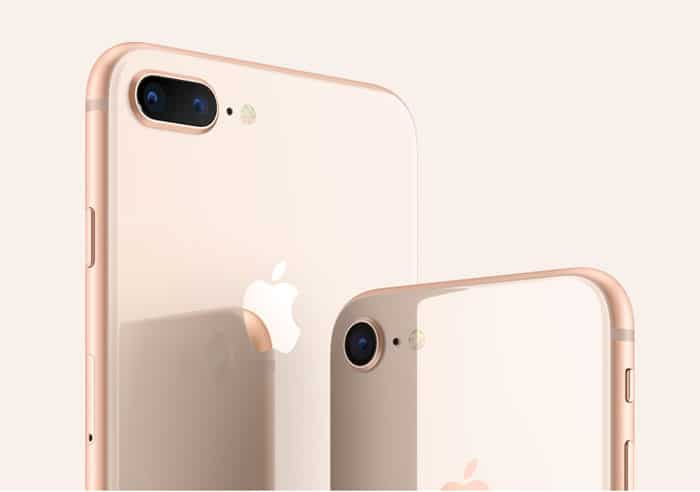 Parte Trasera iPhone 8