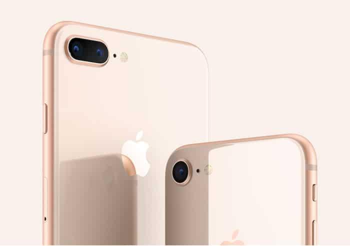 Parte Trasera iPhone 8