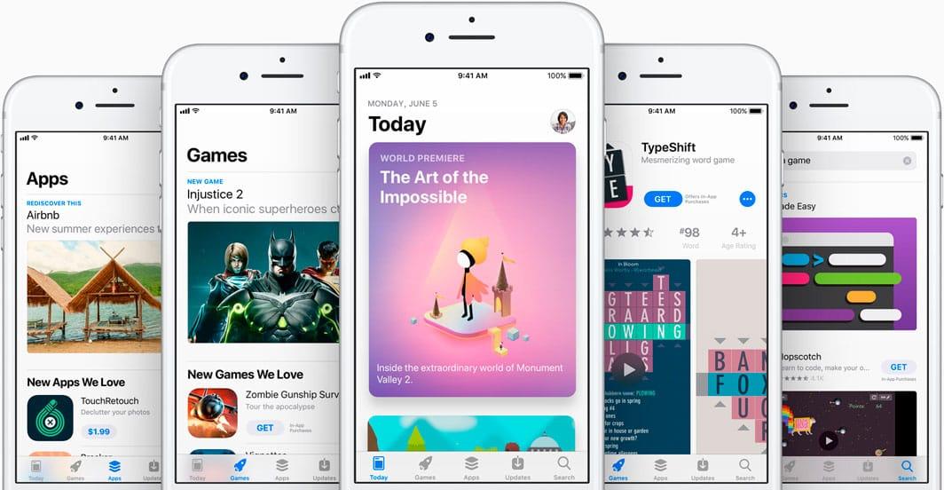 App Store de iOS 11