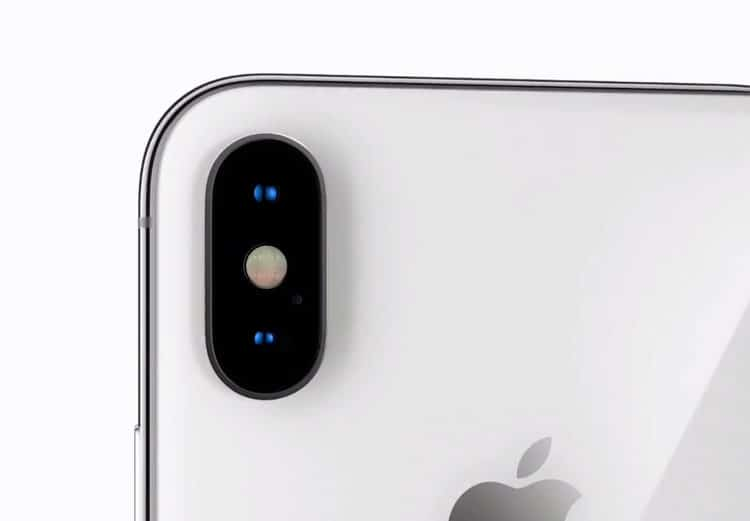 iPhone X cámara