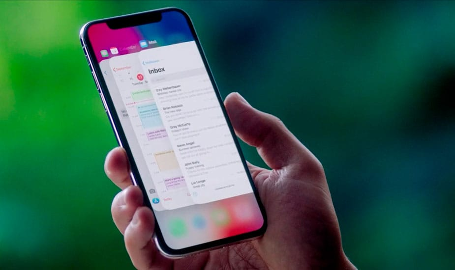Cerrar apps de la multitarea de iPhone X