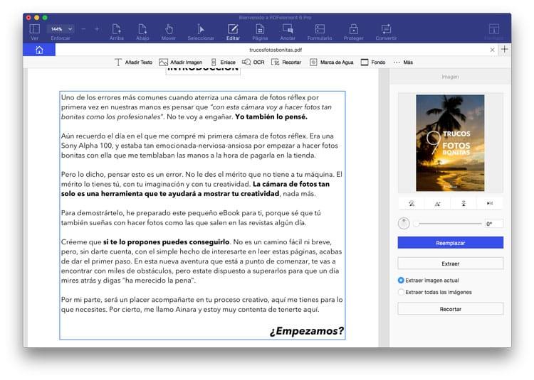 Editar archivo PDF