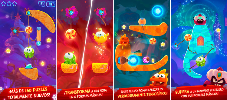 Cut the Rope: Magic para iPhone
