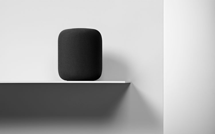 HomePod, altavoz de Apple en color negro
