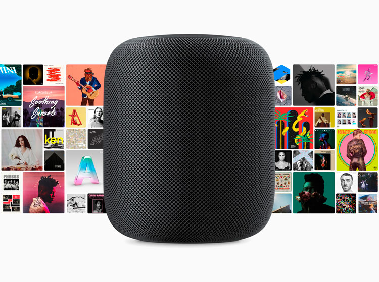 HomePod compatible con Apple Music