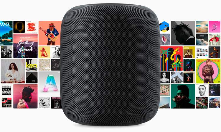 Fuentes de audio HomePod