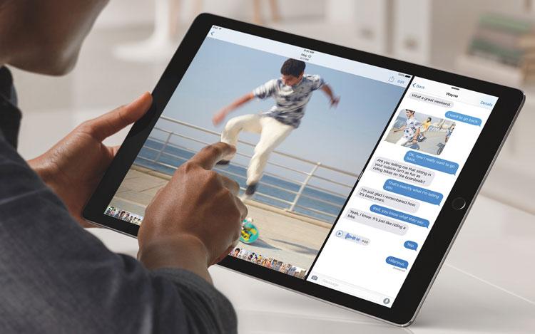 Multitarea del iPad con iOS 11
