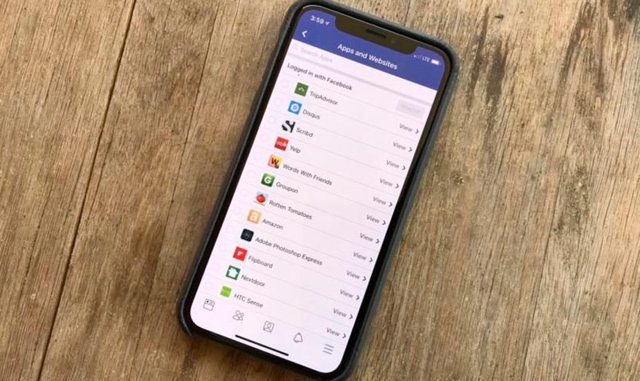 Quitar acceso a tus datos a las apps de Facebook