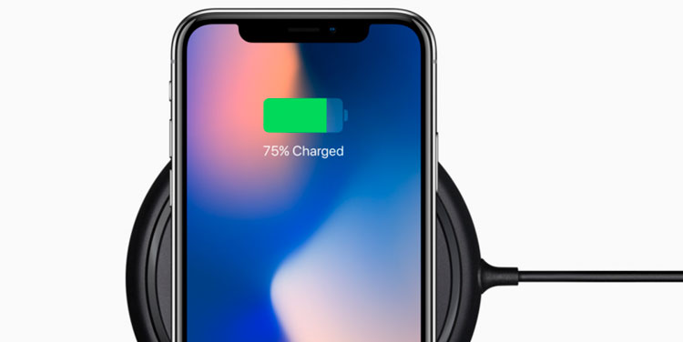 Carga de batería del iPhone