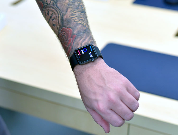 Apple Watch tatuajes