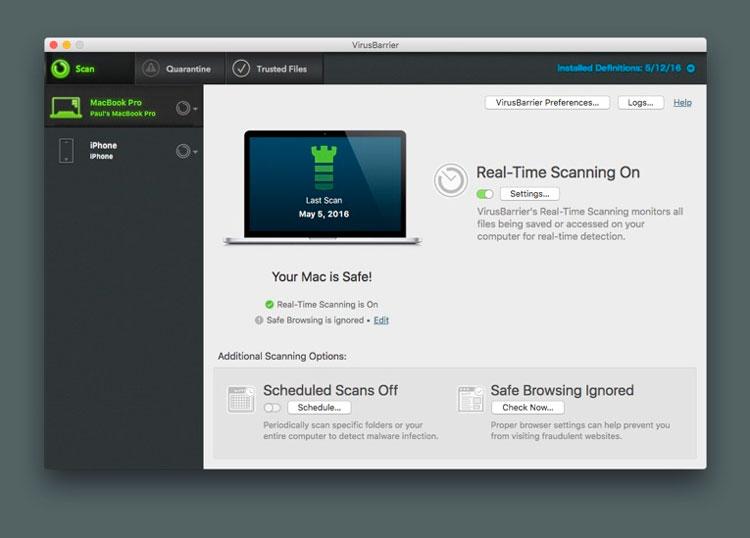 Mac Internet Security X9 de Intego