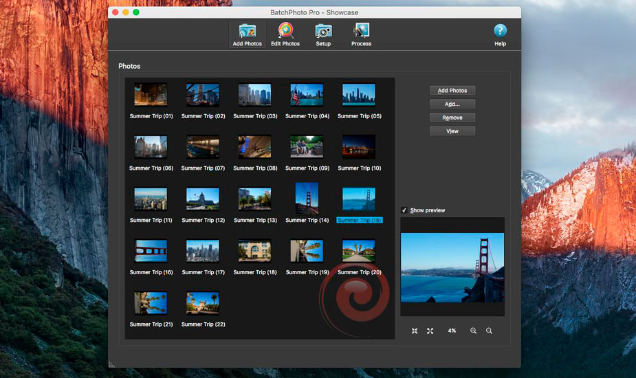 BatchPhoto para Mac