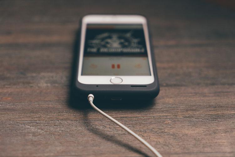 Limpia el conector de auriculares